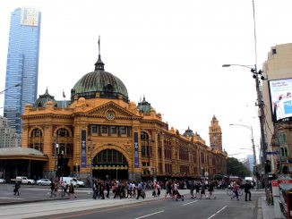 Flinders Street Station Melbourne.