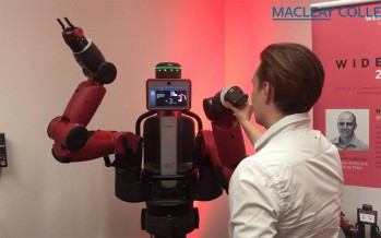 VIDEO: Drones and robots at tech exhibition