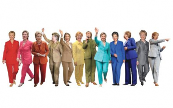 Power of the pantsuit: the history of women's fashion in politics