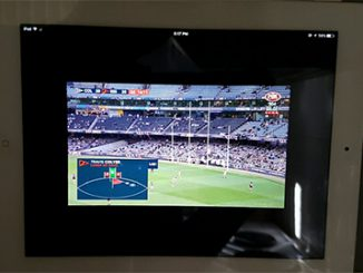 iPhone-sized image on a tablet - AFL feed - 16feb2017