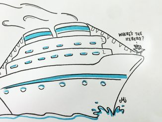 cartoon by pat McKenzie for cruise holiday listicle