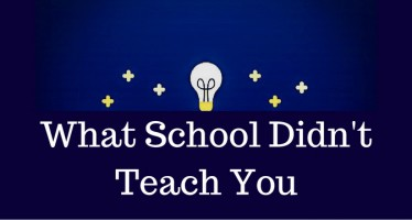 Podcast: 'What school didn't teach you'