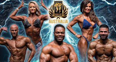Bodybuilders get pumped up for state championship show
