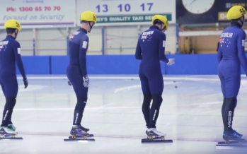 Speed skaters suit up for World Cup selection trials
