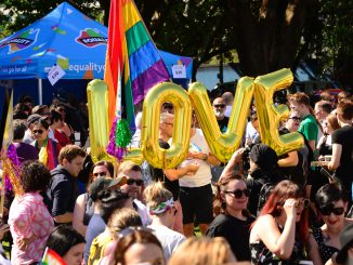 It's a Yes from them and a Yes from the Federal Senate today as the Marriage Equality Bill was passed 43-12. Hatch photo.