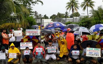 Manus Island stand-off damned as a 'f * * * ing disgrace'