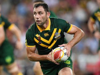 Cameron Smith leads the Kangaroos to victory in the Rugby League World Cup Final.