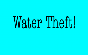 VIDEO EXPLAINER: What is water theft?