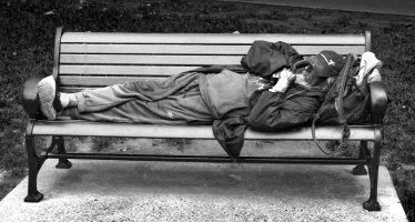 'Suits' camp out to support those sleeping rough