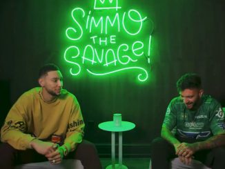 Ben Simmons Slam gaming video with Faze Temperrr