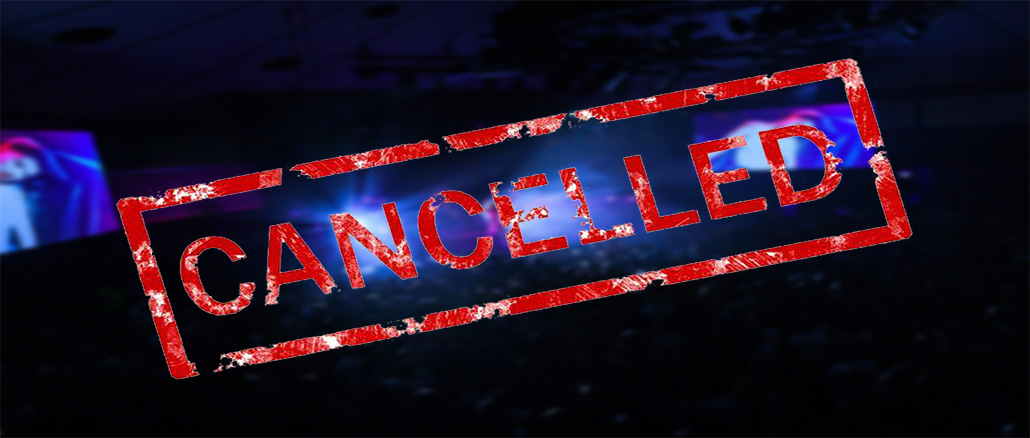 Covid-19 - Live Music Cancelled