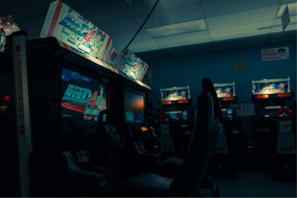 Sim-racing has been a popular arcade element since the 1970's.